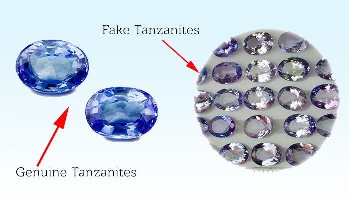 Perbedaan batu permata asli dan imitasi