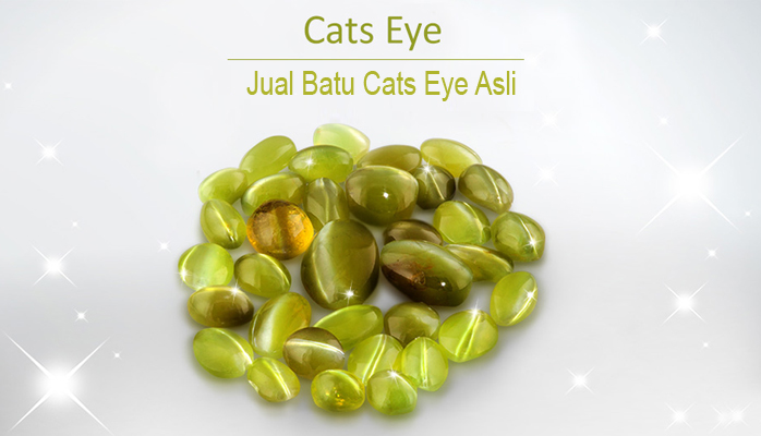 Jual Batu Cats Eye Asli