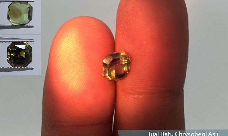 Jual batu chrysoberil asli